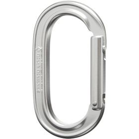 Black Diamond Oval Keylock Carabiner polished